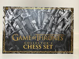 Game of Thrones GOT Collector's Chess Set Resin Pieces Chess Board Strategy
