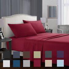 Sheet set BEDDING 1800 Count 4 Piece Bed Sheet Set Deep Pocket Sheets 622C