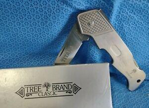 Boker Tree Brand TITANIUM Knife Lockback 112010 NOS Never Carried