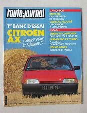 L AUTO JOURNAL - BIMENSUEL N° 16 - 15 SEPTEMBRE 1986 *