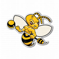 Bee Angry Guard Warrior Car Bumper Sticker
