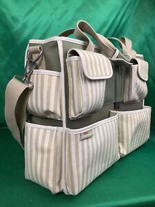 rare CREATING KEEPSAKES Scrapbook Tote Bag Organizer + extras