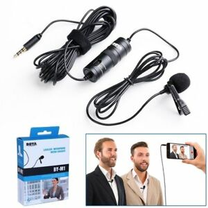 BOYA BY-M1 3.5mm Lavalier for Smartphone and Cameras Microphone with Mic Port