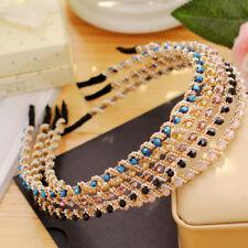 Women Girl's Crystal Rhinestone Jewelry Headband Hairband Hair Band Accessories