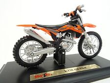 MAISTO 1:18 KTM 450 SX-F MOTORCYCLE BIKE DIECAST MODEL TOY NEW IN BOX