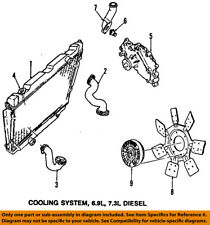 FORD OEM 84-96 E-350 Econoline Club Wagon-Engine Coolant Thermostat E5TZ8575C