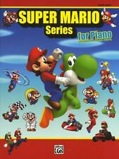 Super Mario Nintendo Video Game Themes Learn to Play Piano Music Book