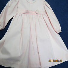 Will'beth dress pink size 2T. new w/tags,long sleeve