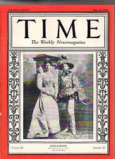 1927 Time May 30-Lindbergh Historic Flight to Paris; Marines Killed in Nicaragua