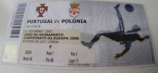 Ticket for collectors EURO q * Portugal - Poland 2007 in Lisboa