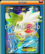 Shaymin EX FA FULL ART Pokemon TCG Online PTCGO SENTFAST 106/108 -DIGITAL CARD-