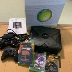 Xbox Special Edition Skeleton Black Console Japan *COMPLETE - CLEARANCE SALE*