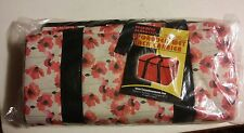 038 Profound Products Upgraded Wet Pack Carrier NIB New Unused Floral Print