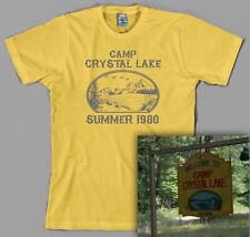 Camp Crystal Lake Shirt Friday the 13th Jason Voorhees vintage retro horror 1980