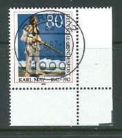 BRD Mi-Nr. 1314 zentrisch Berlin Vollstempel - Bogenecke / Ecke 4 ohne FN