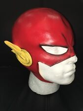 UK NUOVO Flash COSPLAY LATEX Skull Cappello Adulto Testa COSTUME TRAVESTIMENTO