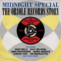 Midnight Special-Oriole Records Story 56-62 2-CD NEW SEALED Mary Wells/Contours+