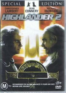 HIGHLANDER 2 Special Edition DVD Christopher Lambert, Sean Connery NEW & SEALED