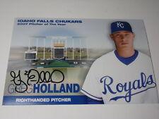 2007 GREG HOLLAND AUTOGRAPHED KANSAS CITY ROYALS 4x 6 BASEBALL PHOTO COA KC MLB