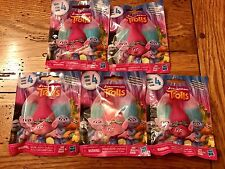 Hasbro DreamWorks TROLLS Series 4 Figures Blind Bag Packs Lot of 5 Five Sealed