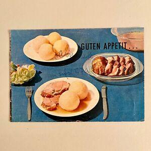 VINTAGE Lebensmittel-Werbung Heft Broschüre Prospekt 11x16cm Pfanni m Chipsi ALT