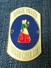 Maggie Valley North Carolina NC Walking Stick Hiking Medallion Staff