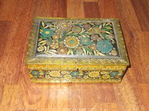 Antica scatola latta  caramelle elah