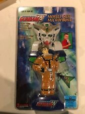 2001 Gundam Wing Mobile Suit Microphone NEW