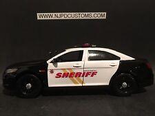 Suffolk County Sheriff 1:24 Scale Ford Taurus Interceptor Police Car Replica