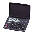 Casio LC-160LV-BK Portable Type Calculator 8-Digit Fast  Easy To Use FS