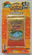 Pokemon Expedition Base Set Booster Pack - Blister Card - Venusaur
