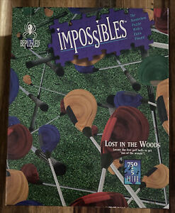"""🧩 Bepuzzled Impossibles """"Lost in the Woods"""" 750+5 Piece Jigsaw Puzzle COMPLETE"""