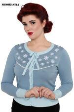 Women's Medium Knit Long Sleeve Button Cotton Blend Jumpers & Cardigans