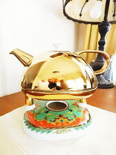 Versace Rosenthal LA VOYAGE DE MARCO POLO Combi Pot AND Warmer RARE - NEW!