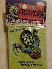 Enamel Pin Horror Halloween Ghoulsville Zombie Creepy Monster Motion