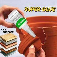 Uniglue Universal Super Glue Strong plastic glue~30ML