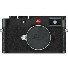New Leica M10-R Digital Rangefinder Camera (Black Chrome) #20002