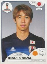 665 Hiroshi kiyotake japan Cerezo osaka sticker world cup russia 2018 panini
