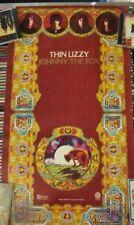 "Rare Original 1976 Thin Lizzy ""Johnny The Fox"" Poster"