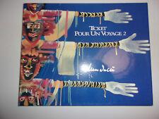 TICKET POUR UN VOYAGE TOME 2 / 1990 - 2000 / DEDICACE DOMINIQUE LANDUCCI