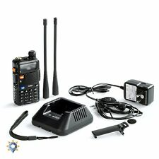 Digital Police Scanner Radio Shack Dual Band Transceiver Portable Antenna EMS