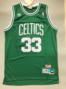 NWT Larry Bird #33 Boston Celtics Classic Throwback Jersey (Green) Size S-XXL