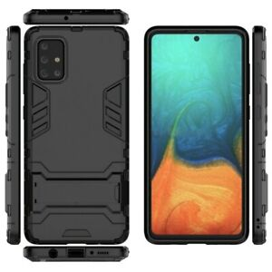 Armour Case For Galaxy S10 S20 Plus Ultra A51 A71 A50 A70 A20e Back Cover Stand