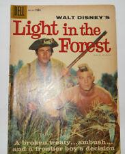 VTG Disney Dell Comics 1958 #891 Light in the Forest Fess Parker Photo Cover