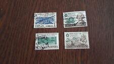 serie completa sellos usados bicentenario constitución EEUU edifil 2322-25, 1976