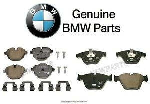 For BMW F10 Pair Set of Front & Rear Brake Pad Sets Genuine
