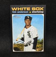 SP! 🚨Tim Anderson 2020 Topps Heritage High Number #436 White Sox