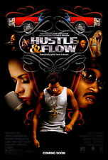 HUSTLE AND FLOW Movie POSTER 27x40 Terrence Dashon Howard DJ Qualls Ludacris
