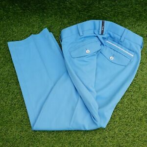 PING Collection Golf Mens Light Bright Blue Trousers Pants W32 L29