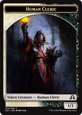 4 Human Cleric Token, Shadows Over Innistrad